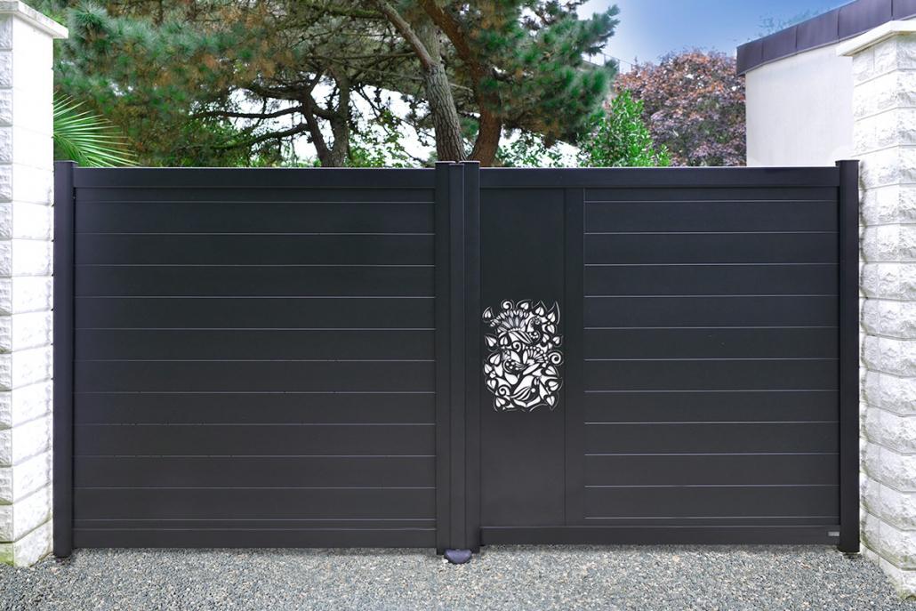 Portail aluminium - Erregi